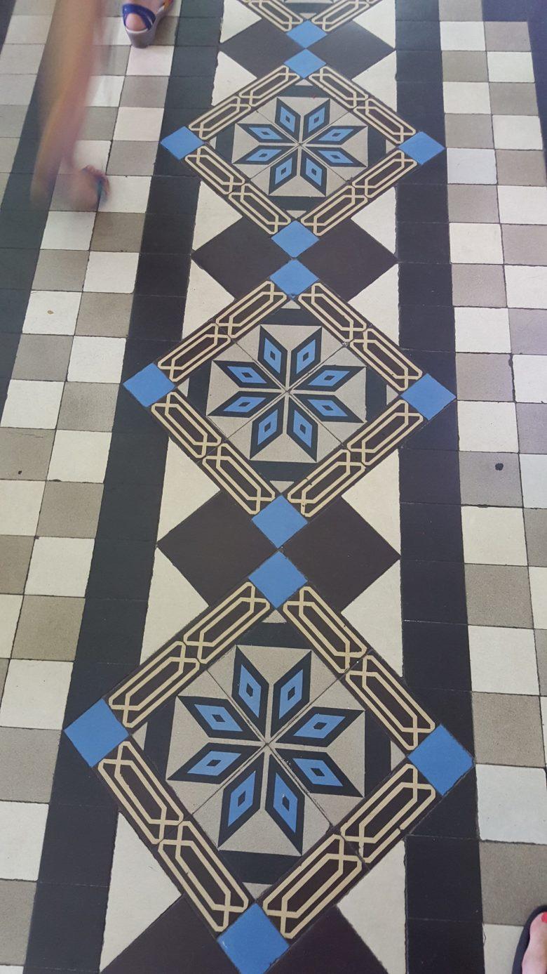 Saigon post office tile inspiration